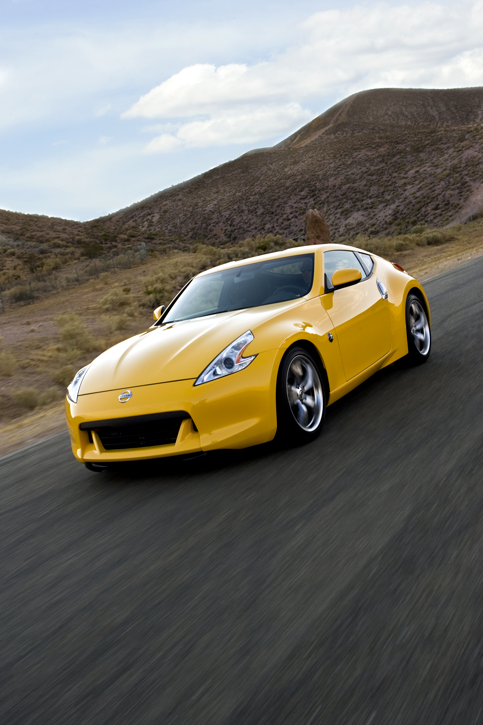 Yellow 370Z