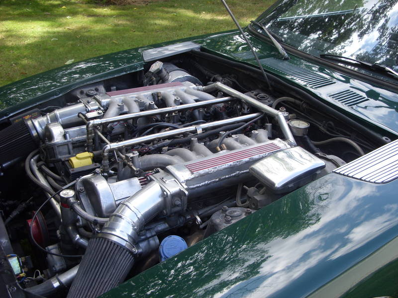 1971 Datsun 240Z with Jaguar V-12 swap