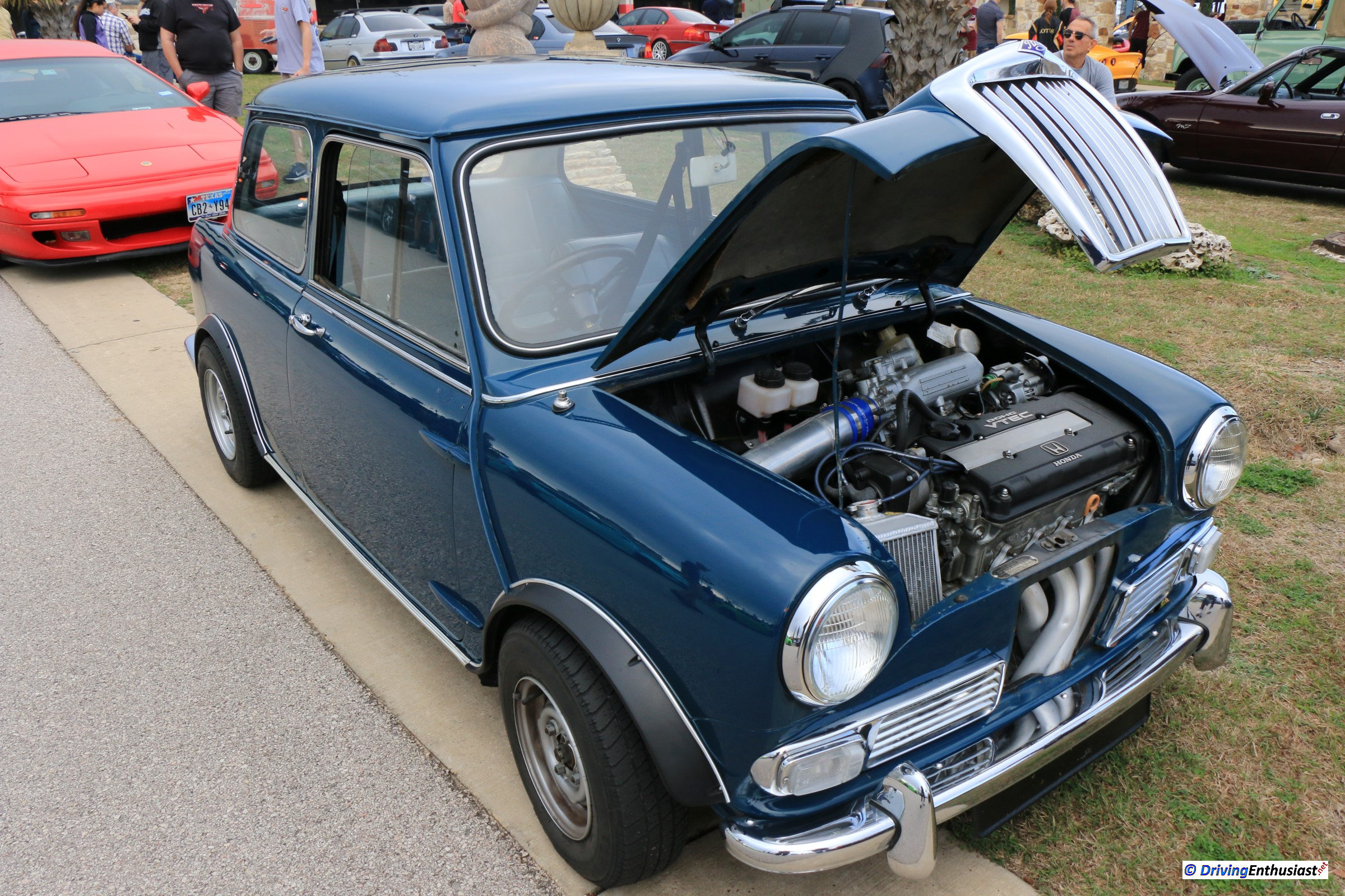 Classic Mini Cooper Engine Swap