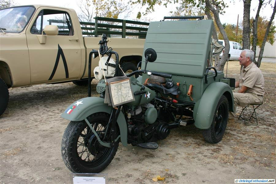 Harley-Davidson Servi-Car - WW2 US Army