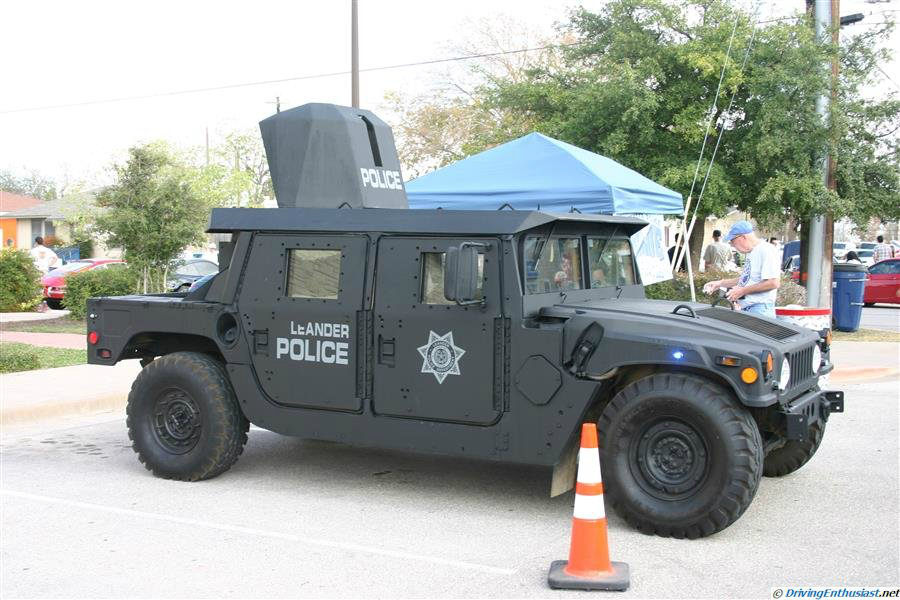 City of Leander, TX HMMWV