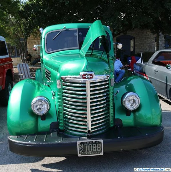 1947 International truck with a modern Dodge inline 6 Diesel swap