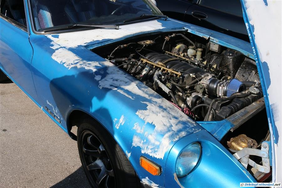 Datsun 280Z with GM LSx engine swap