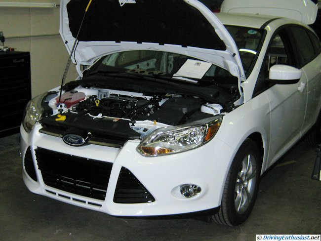 Cobb Tuning Ford Focus for 2011 SEMA - under construction