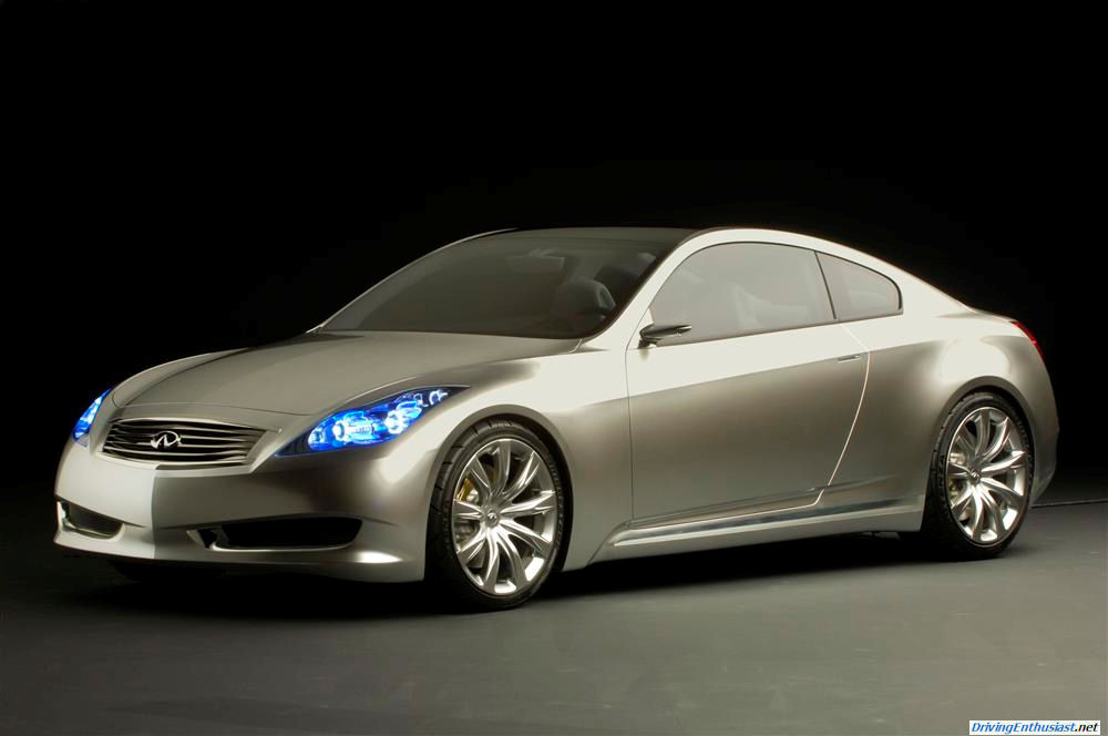 New Infiniti G35 Coupe >> Remembering The 2006 Infiniti G Coupe Concept Gallery