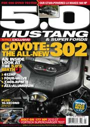March 2010 Mustang 5.0 and SUper Fords magazine