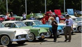 thunderbird 55th anniversary celebration in dearborn