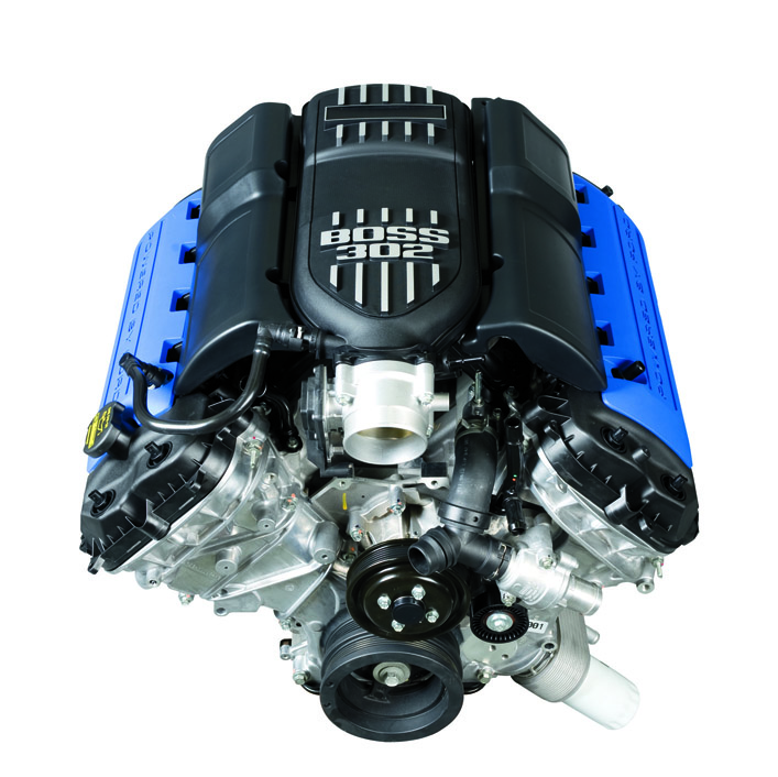 Ford Boss Mustang Crate Engine Now Available