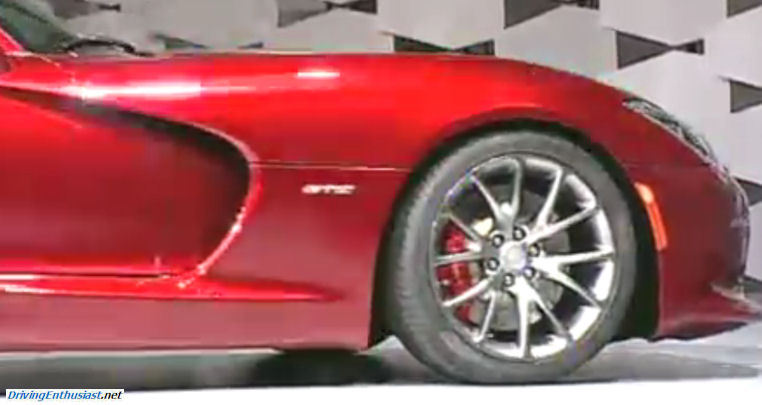 2013 Srt Viper Unveiled Live From The Press Conference