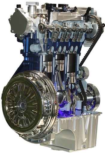 1.0-litre Ford EcoBoost turbo petrol engine