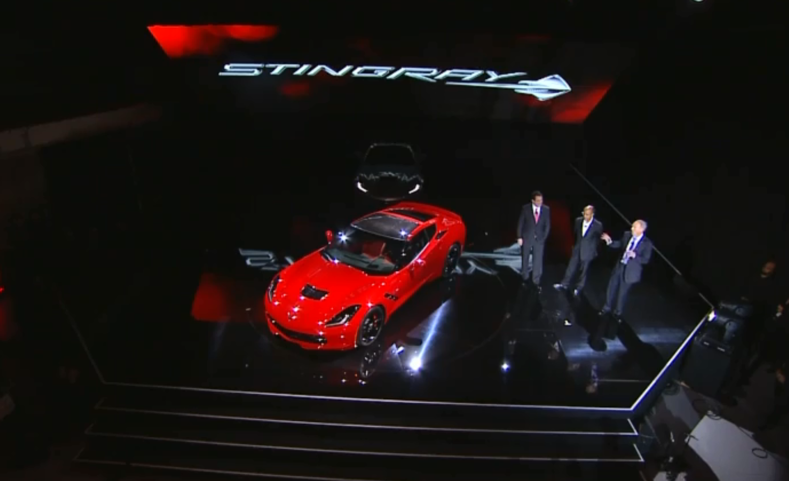 2014 Corvette introduction NAIAS  (2)