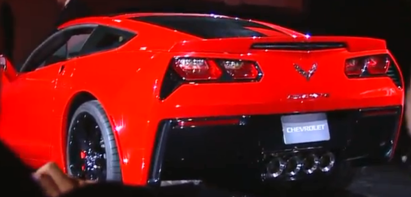 2014 Corvette introduction NAIAS  (3)