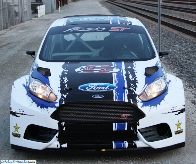 2013 Global RallyCross Championship Ford Fiesta (1)