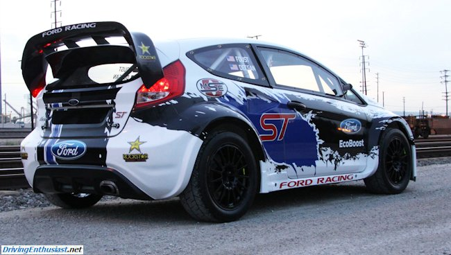 2013 Global RallyCross Championship Ford Fiesta (2)