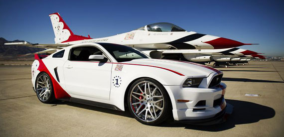 US Air Force Thunderbirds Edition Ford Mustang
