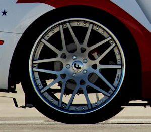 US Air Force Thunderbirds Edition Ford Mustang - rear brakes