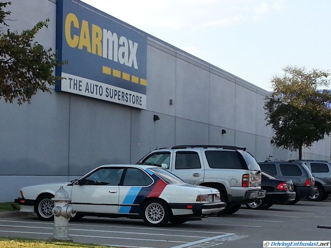 BMW 633 CSi at Carmax