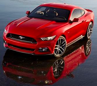 2015 ford mustang named official car for 2014 ces. Black Bedroom Furniture Sets. Home Design Ideas