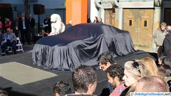 2015 Mustang unveiling in Los Angeles