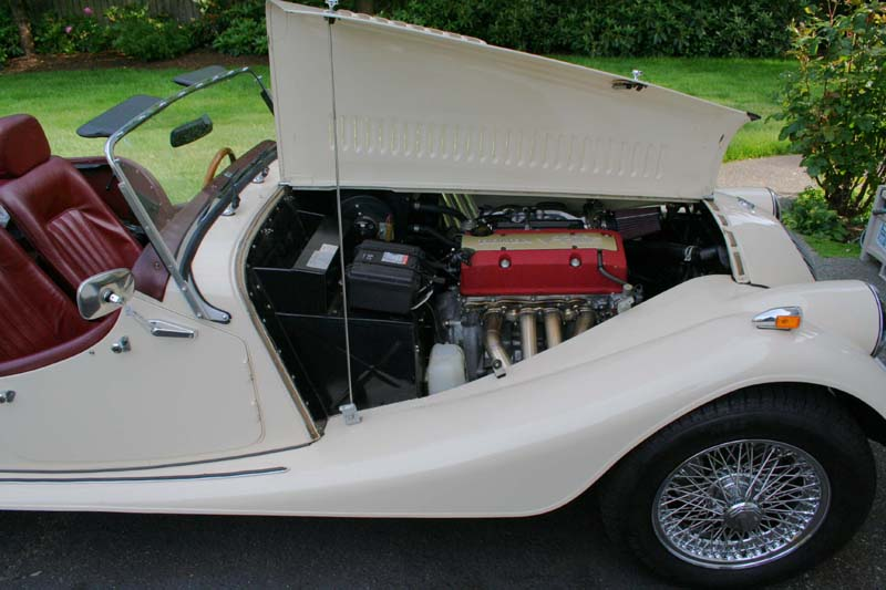 1991 morgan 4-4 with s2k motor