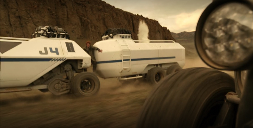 new Lost in Space chariot