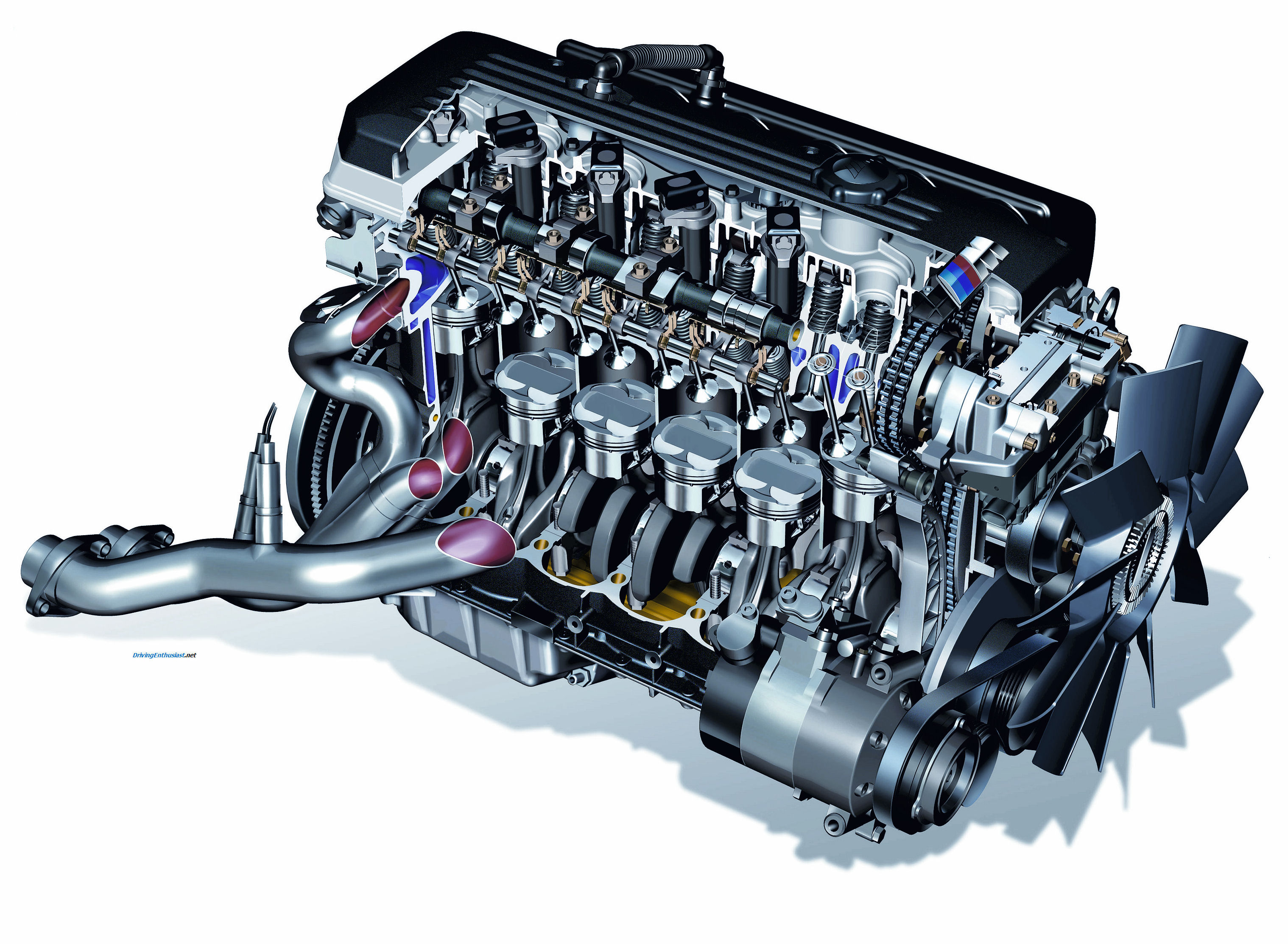 Drivingenthusiast  Bmw M3 Dohc I6 E46 Engine  High