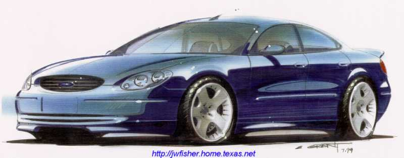 Drivingenthusiast Ford Taurus Supercharged Concept