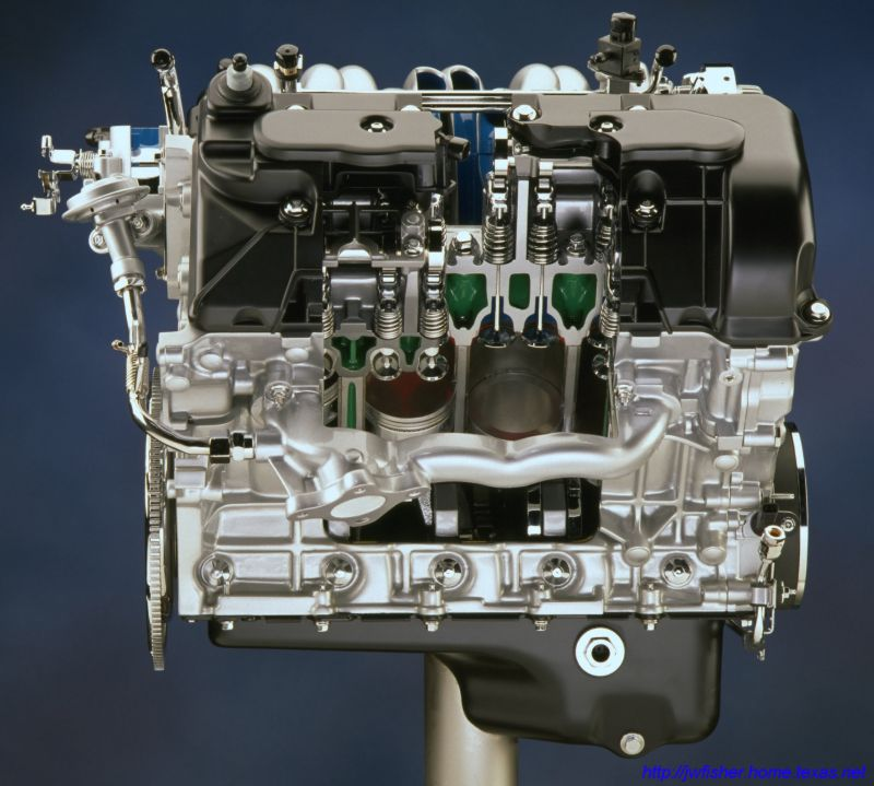 Ford intech engine